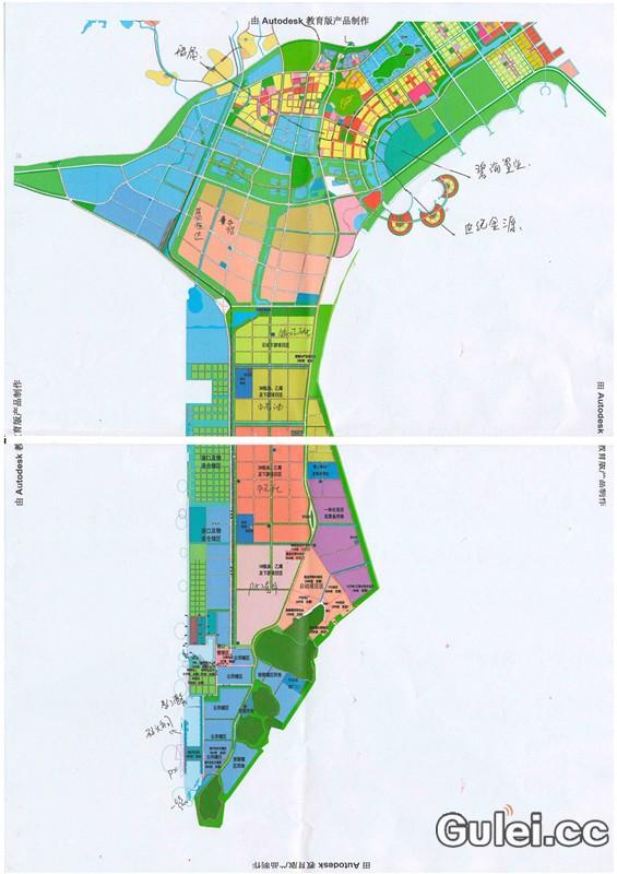 古雷港经济开发区规划图及视频展示 - 港区规划 - 古 ...