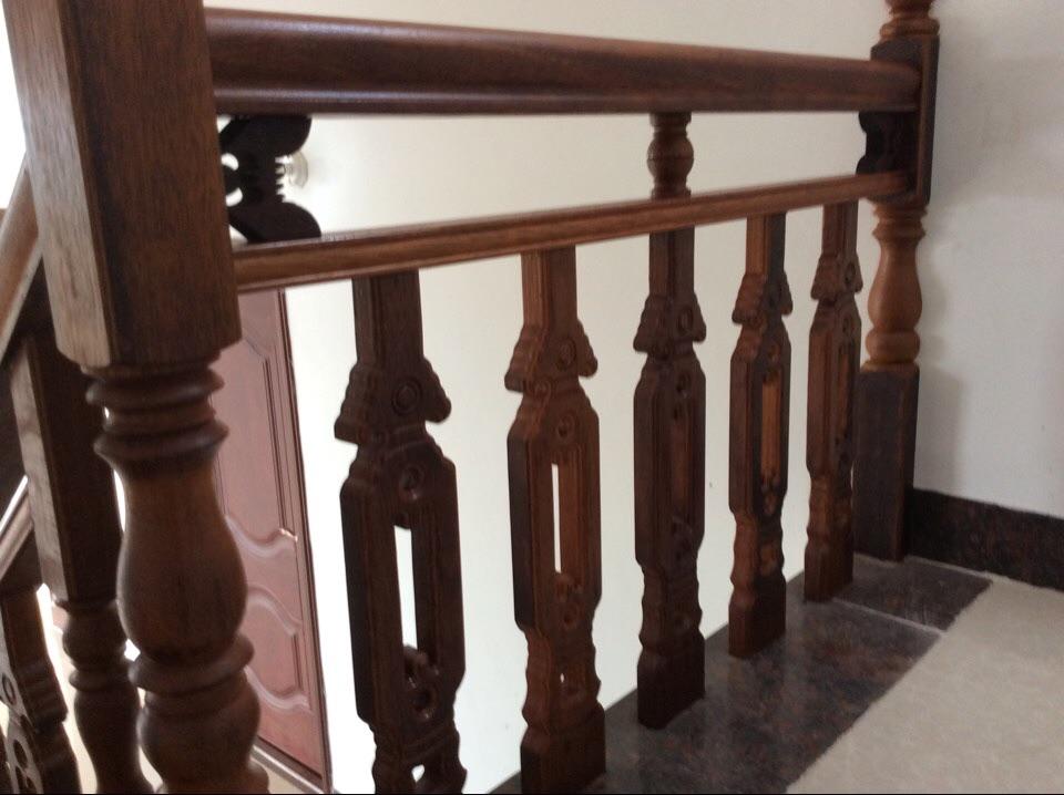 专业实木红木楼梯扶手