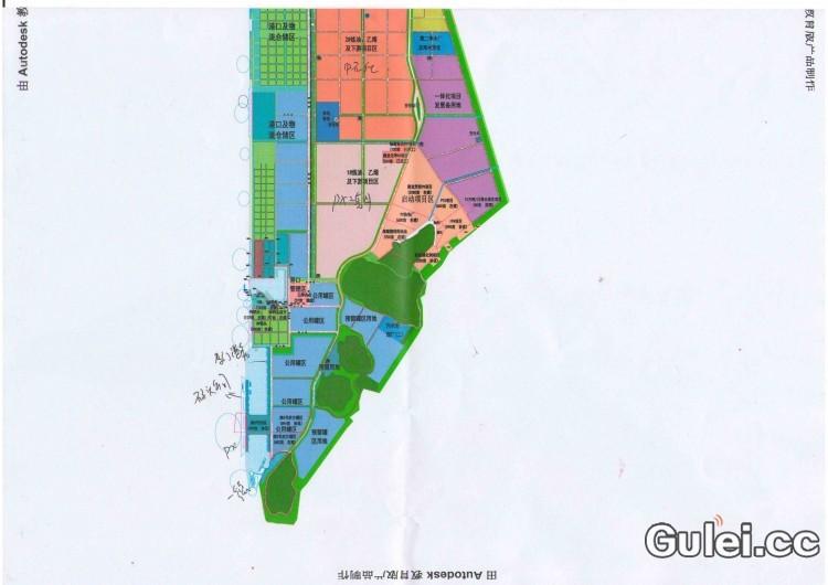 古雷港经济开发区规划图及视频展示