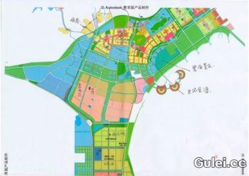 南宁空港经济区规划图_平面设计图